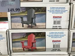 Adirondack Chairs Costco West Ndash Spring Seasonal Items Garden ... Chair Costco Ding Chairs Caps White Wooden High Kohls Barn Folding Covers One Cushions Table Pattern Foldable With For Reupholster Stackable Outdoor Linen 23 Decoration Teak Rocking Galleryeptune Leather Bag Depot Target Black Rent Bedroom Height Lafuma Futura Premium Padded Recliner Uk Ch003 Vintage Australia Design Beach Inspiring Fabric Sheet Beautiful Cheap Portable Round Cosco Home And Office Commercial Resin Mesh Real Plastic Soft