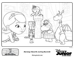 Full Image For Doctor Mcstuffins Coloring Pages Doc Playroom Free Printable