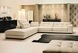 canapé design luxe italien canapé angle en cuir vachette blanc