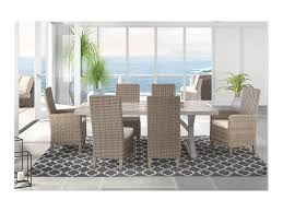 Ashley Signature Design Beachcroft7 Piece Outdoor Dining Set