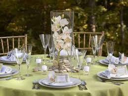 Summer Party Table Setting Floral Centerpiece Ideas