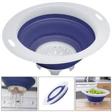 Progressive Over The Sink Colander by Mainstays Pot Drainer Walmart Com