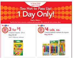 bathtub crayons toys r us toys r us deals crayola crayons 3 for 1 mickey mouse doc