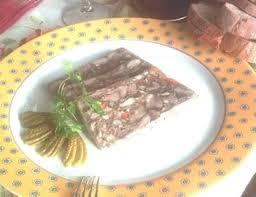 pate de tete de porc maison recette de fromage de tête à l ancienne la recette