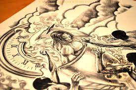 Custom Tattoo Design Uk 18 Half Sleeve From Dark Graphics