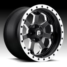 Fuel Savage D565 Matte Black Milled Custom Truck Wheels Rims - Fuel ...