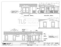 2010 Clayton Home Floor Plans by Floor Plans Golden West Limited Series Tlc Manufactured Homes