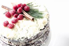 Todays Recipe Will Produce A Very Moist And Decadent Chocolate Cake Thats Been Layered With Raspberry Sauce Frosted Mascarpone Frosting