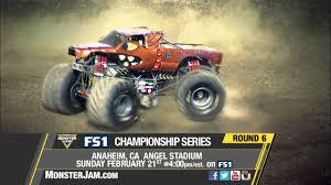 100 Monster Truck Show Anaheim Jam In On FS1 Sunday Feb 21 2016 YouTube