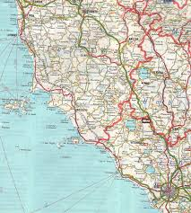 How To Find Your Way Panicale Rail Map Of Umbria On Tuscany
