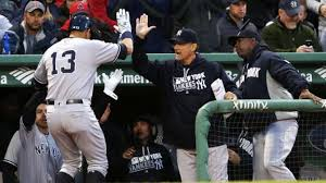 Alex Rodriguez gives home run bat to young fan at Fenway Park