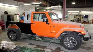 Custom Jeep Wrangler JK-8 (Truck Conversion) - YouTube