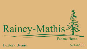 Rainey Mathis Funeral Home Home