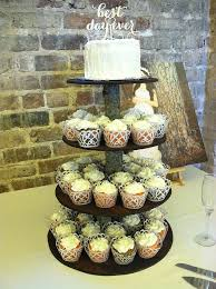 Rustic Wedding Cupcakes And Topper Cake