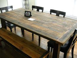 Rustic Kitchen Table And Chairs Size Rustic Modern