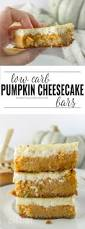 Pumpkin Cheesecake Layer Pie Recipe by Low Carb Pumpkin Cheesecake Bars Domestically Creative