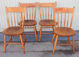 Nichols And Stone Windsor Rocking Chair by Signed Nichols And Stone Thumb Back Windsor Chairs Set Of Four