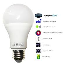 smart a21 rgbw tunable yellow color led bulbs cxy wifi app