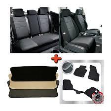 pack housses de sièges tapis de sol et tapis de coffre auto sur