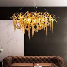 nordic led luxus kronleuchter beleuchtung für wohnzimmer esszimmer dekoration kronleuchter le home küche hotel hängen lichter