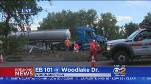 Jackknifed Truck Spills Diesel On 101 Freeway In Woodland Hills ... Breaking Truck Jackknifes On I65 Along Government Blvd Overpass M5 Closed As Jackknifed Lorry Blocks All Lanes Birmingham Live Trucker Rudi 121815 Semi Truck In The Rocky Mountains Sthbound I75 North Toledo The Blade Hazmat Responds To Ctortrailer Franklin Jack Knifed Tractor Trailer Closes Highway 11 South Btodayca Breaking News Lane After N4 Lowvelder Semi Carrying 42k Pounds Of Powdered Milk Dan Ryan Accidents What Happens If They Jackknife Peter Davis Law Logging Fatal 97 Crash Maple Ridge News