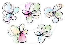 Abstract Clipart Simple Flower 5