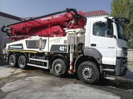 100 Concrete Pump Truck For Sale PUTZMEISTER BSF 425 Concrete Pumps For Sale Truck Mounted Concrete