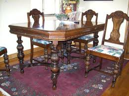 Antique Dining Room Sets Table And Chairs Awesome With Images Of Creative