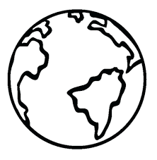Coloring Pages Earth Sheets Planet Colouring Within