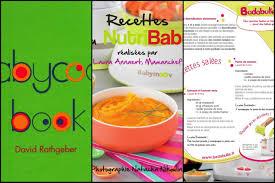 livres cuisine 3 livres de recettes de cuisine pour bébé à télécharger