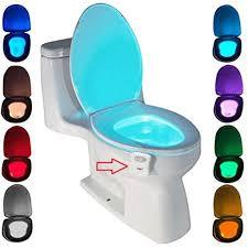 led toilettenlicht zszt motion sensor wc nachtlicht batteriebetriebenes toilettenlicht toilettenbeleuchtung 8 farben für badezimmer hause