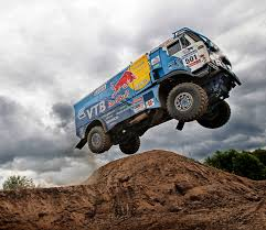 100 Redbull Truck Red Bull Kamaz Dakar Jump Photo Gallery Autoblog
