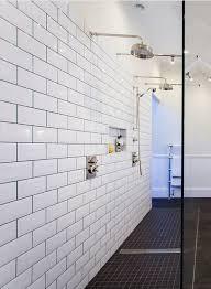 6 X 12 Beveled Subway Tile by 50 Best Showers Images On Pinterest Master Bath Bathroom Ideas