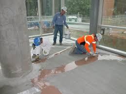 CCIS Terrazzo Installation