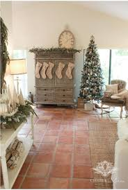 I Love How Pretty Christmas Greenery Looks Against White