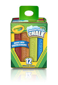 Amazon.com: Crayola 12 Count Sidewalk Chalk: Toys & Games
