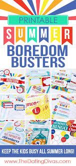 Printable Summer Activities For Kids SummerActivities