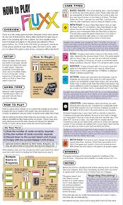 Official Fluxx Board Game Rules