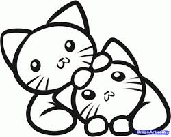 Download Coloring Pages Kitten Color Page Futpal For Kids