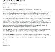 Good Cover Letter Introduction Of For Resume Great Letters Jobs Fi