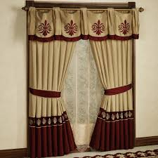 Kohls Sheer Curtain Panels by Excellent Modern Red Striped Kitchen Cafe Curtain Design With