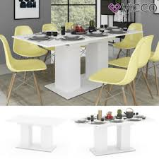 tisch und stuhl sets in weiß günstig kaufen ebay