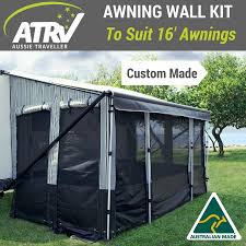 Aussie Traveller Caravan Annexe Wall Kit For 16ft Roll Out Awning ... Retractable Patio Awning 12x10 Feet Blue Aleko Green And White Striped Superior Quality Rv Awnings Guarranteed Lowest Price Vacationr Room 16 17 Cafree Of Colorado 291600 Choosing A Covering All The Options Vintage Trailer From Oldtrailercom Diy Sun Shade Sail Youtube Retctablelateral Arm Replacing The Awning Fabric On An Ae Model 8500 Part Amazoncom