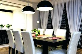 Modern Dining Room Ideas Curtain Curtains