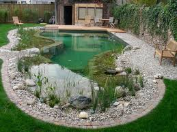 Interesting Small Backyard Pool Design With Bench Also Wooden ... Very Small Backyard Pond Surrounded By Stone With Waterfall Plus Fish In A Big Style House Exterior And Interior Care Backyard Ponds Before And After Small Build Great Designs Gardens Design Garden Ponds Home Ideas Fniture Terrific How To Your Images Natural Look Koi Designs Creek And 9 To A For Goldfish