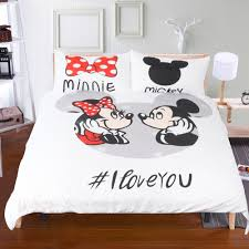 Minnie Mouse Bedding by Online Get Cheap Love Mickey Mouse Bedding Set Aliexpress Com
