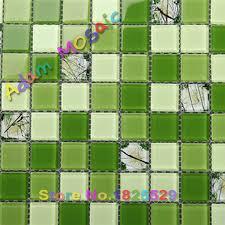 aliexpress buy glass subway tile backsplash green kitchen