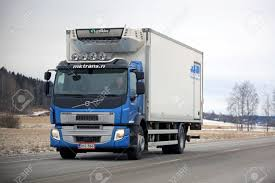 SALO, FINLAND - FEBRUARY 11, 2017: Blue Volvo FE Refrigerated ... Isuzu Nqr 14 Ft Refrigerated Truck Feature Friday Van Suppliers And Manufacturers At 3d Model Length 9300 Mm Carrier 2000 Body For Sale Council Bluffs Ia Mitsubishi Canter Transport Dubaichiller Vanfreezer Truck For Transporting Fish Kinlochbervie Scotland Refrigeratedtruck A Black Girls Guide To Weight Loss An Electric Refrigerated Urban Distribution Switzerland Reefer Trucks For Sale Refrigerated Vans Bush Specialty Vehicles