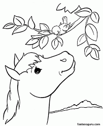 Colouring Pages Of Animals Coloring Home