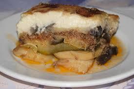 cuisine grecque moussaka moussaka